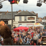 upton upon severn Blues music festival
